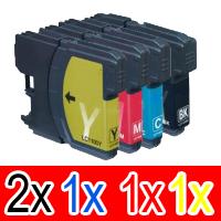 10 Pack Brother LC-133 Ink Cartridge Set (4BK,2C,2M,2Y)