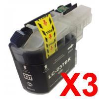 3 x Brother LC-239XL Black Ink Cartridge LC-239XLBK