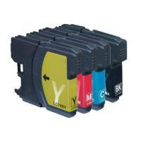 4 Pack Brother LC-38 Ink Cartridge Set (1BK,1C,1M.1Y)