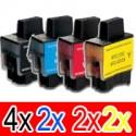 10 Pack Brother LC-47 Ink Cartridge Set (4BK,2C,2M,2Y)