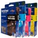 4 Pack Brother LC-67 Ink Cartridge Set (1BK,1C,1M,1Y)