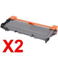 2 x Brother TN-2350 Toner Cartridge High Yield