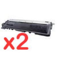 2 x Brother TN-240BK Black Toner Cartridge