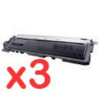 3 x Brother TN-240BK Black Toner Cartridge