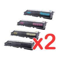 2 Lots of 4 Pack Brother TN-240 Toner Cartridge Set