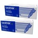 1 x Brother TN-2025 Toner Cartridge Twin Pack