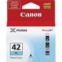 1 x Canon CLI-42PC Photo Cyan Ink Cartridge
