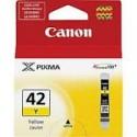 1 x Canon CLI-42Y Yellow Ink Cartridge