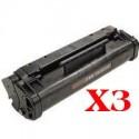 3 x Canon FX-3 Toner Cartridge