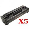 5 x Canon FX-3 Toner Cartridge