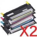 1 x Dell 1230c 1235cn Black Toner Cartridge