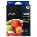 1 x Epson 200 Ink Cartridge Value Pack Standard Yield