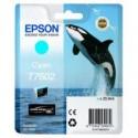 1 x Epson T7602 760 Cyan Ink Cartridge