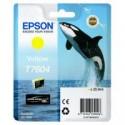 1 x Epson T7604 760 Yellow Ink Cartridge