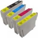 4 Pack Epson 73N T1051 T1052 T1053 T1054 Ink Cartridge Set (1B,1C,1M,1Y)