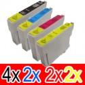 10 Pack Epson 73N T1051 T1052 T1053 T1054 Ink Cartridge Set (4BK,2C,2M,2Y)