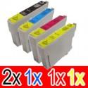5 Pack Epson 73N T1051 T1052 T1053 T1054 Ink Cartridge Set (2BK,1C,1M,1Y)