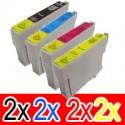 8 Pack Epson 73N T1051 T1052 T1053 T1054 Ink Cartridge Set (2BK,2C,2M,2Y)