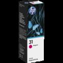 1 x HP 31 Magenta Ink Bottle 1VU27AA