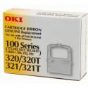 1 x OKI MICROLINE 172 182 192 320 321 Ribbon Cartridge