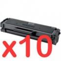 10 x Samsung ML-2160 ML-2165W SCX-3405F SCX-3405FW Toner Cartridge MLT-D101S SU698A