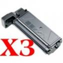 3 x Samsung SCX-5312 Toner Cartridge SCX-5312D6